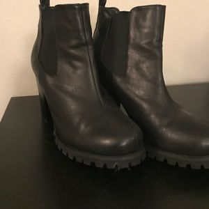 Chinese laundry platform ankle boots
